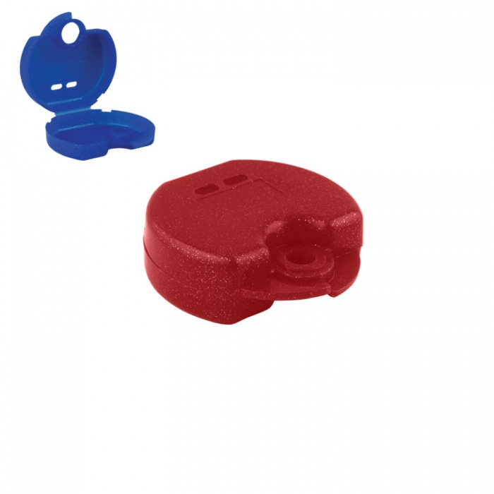Retainer Cases Euro Mini Sparkle Red, 31 X 76 X 64mm (Pack Of 10 Pieces)