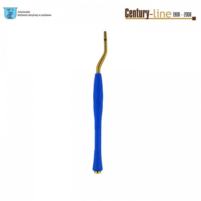 Century-Line Condensing Osteotome, Bayonet 2.8-3.5mm (Blue)