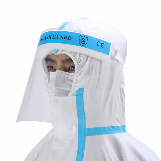 Medical Face Shield: EN 166 Certified [Product Code: 206-121]