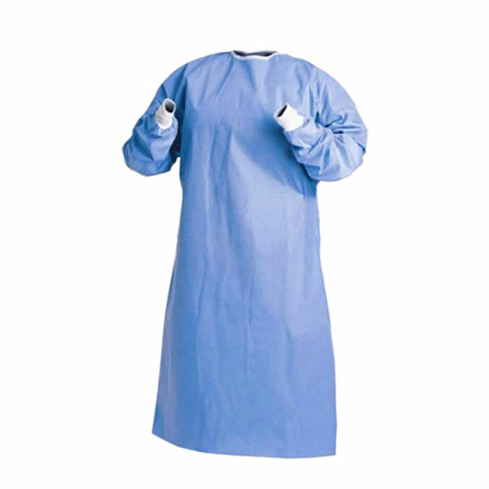 Disposable Isolation Gowns: AAMI Level 3 and EN 13795 Certified [Product Code: 215-127]