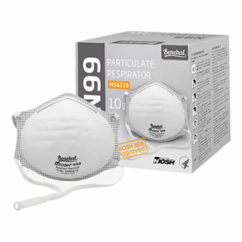 Disposable N99 (unvalved) Respirators: NIOSH approved [Product Code: 242-145]