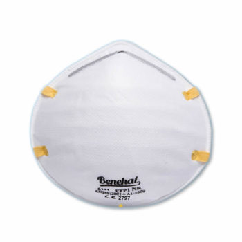 Disposable FFP1 (unvalved) Respirators: EN 149 Certified [Product Code: 245-147]