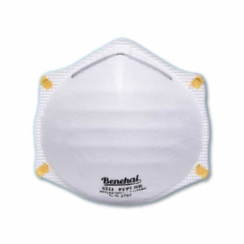Disposable FFP1 (unvalved) Respirators: EN 149 Certified [Product Code: 251-151]