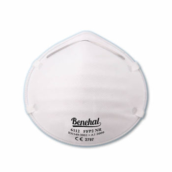 Disposable FFP2 (unvalved) Respirators: EN 149 Certified [Product Code: 257-155]