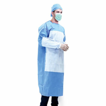 Disposable Isolation Gowns: AAMI Level 3 and EN 13795 Certified [Product Code: 278-169]