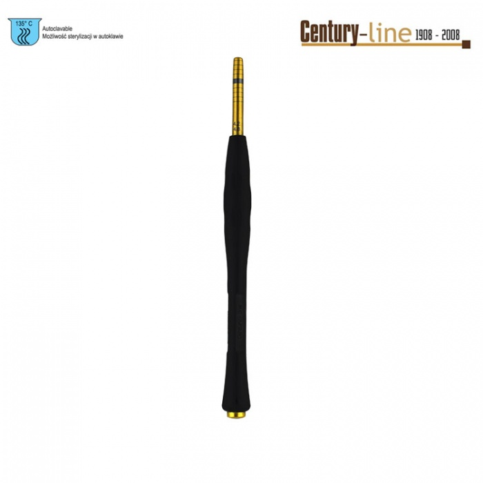 Century-Line Condensing Osteotome, Straight 4.2-4.8mm (Black)
