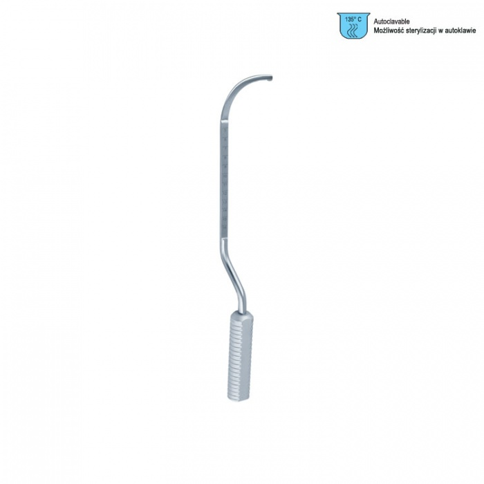 Breast Dissector Agris Dingman Gratuated, Left 360mm