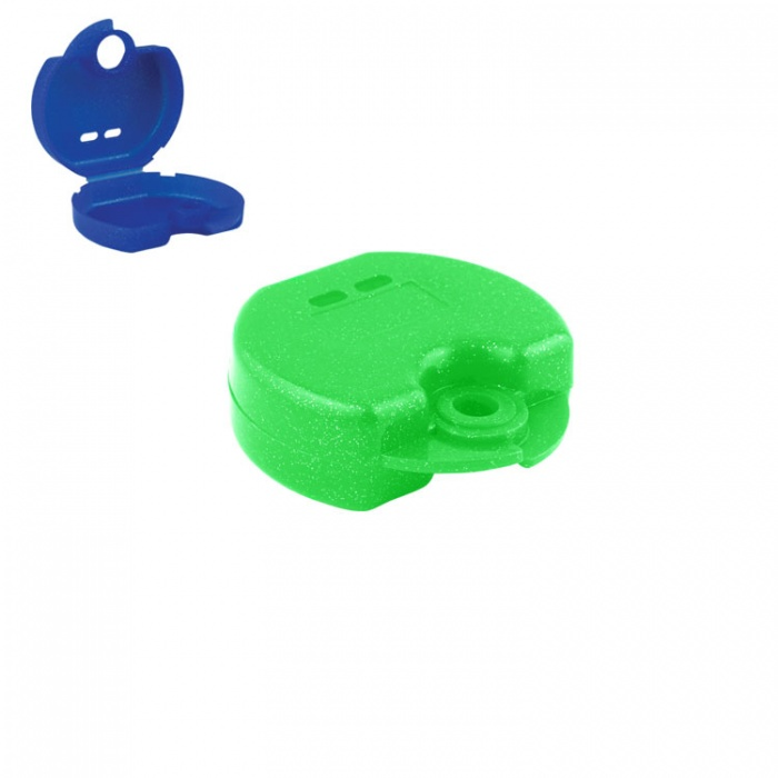 Retainer Cases Euro Mini Tropical Green, 31 X 76 X 64mm (Pack Of 10 Pieces)