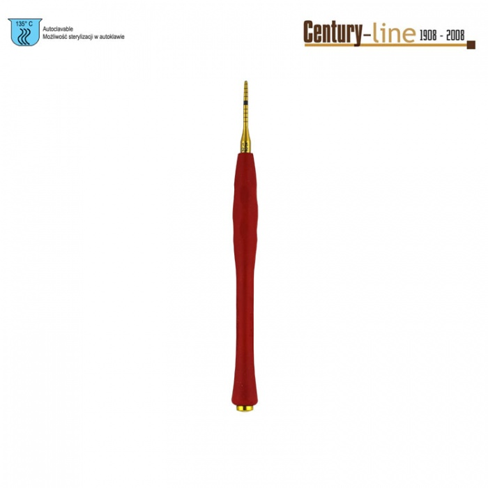 Century-Line Condensing Osteotome, Straight 1.5-2.2mm (Red)