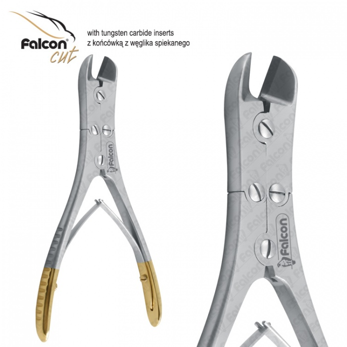 Falcon-Cut Wire Cutter X-Action Angled 155mm Tc