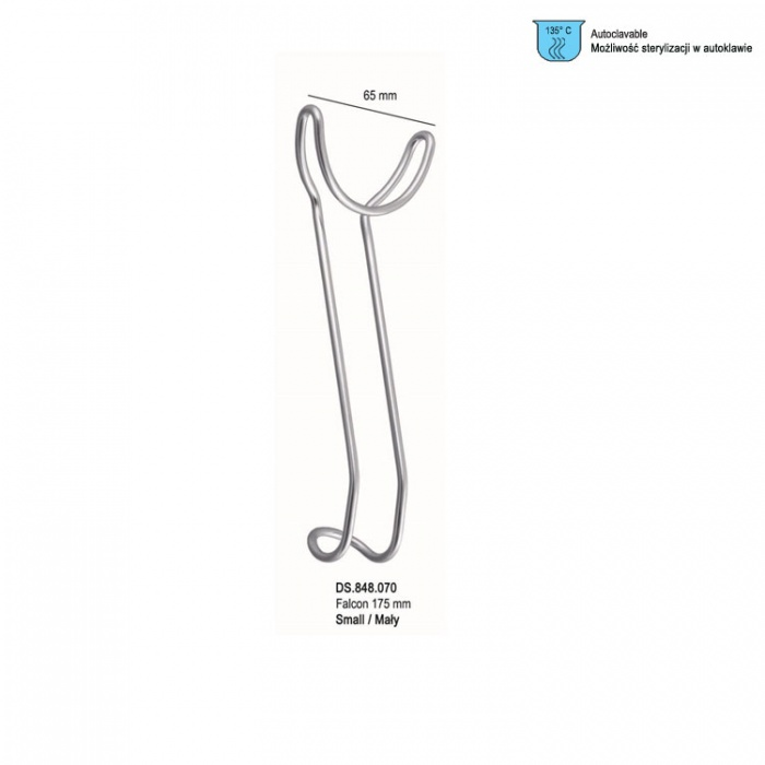 Retractor Universal Lip And Cheek Double Ended Small 65mm X 175mm