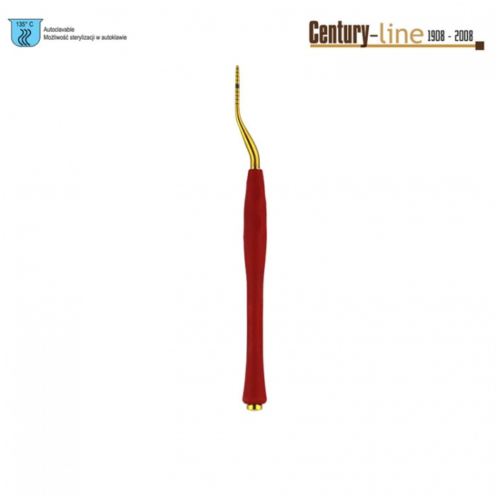 Century-Line Condensing Osteotome, Bayonet 1.5-2.2mm (Red)