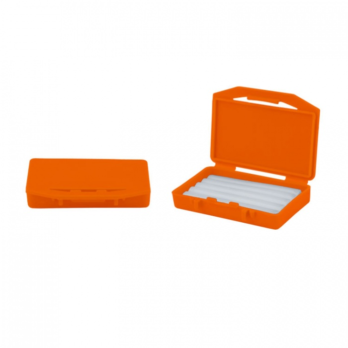 Dentaline Clear Relief Wax Scented Box Orange (Pack Of 10 Pieces)