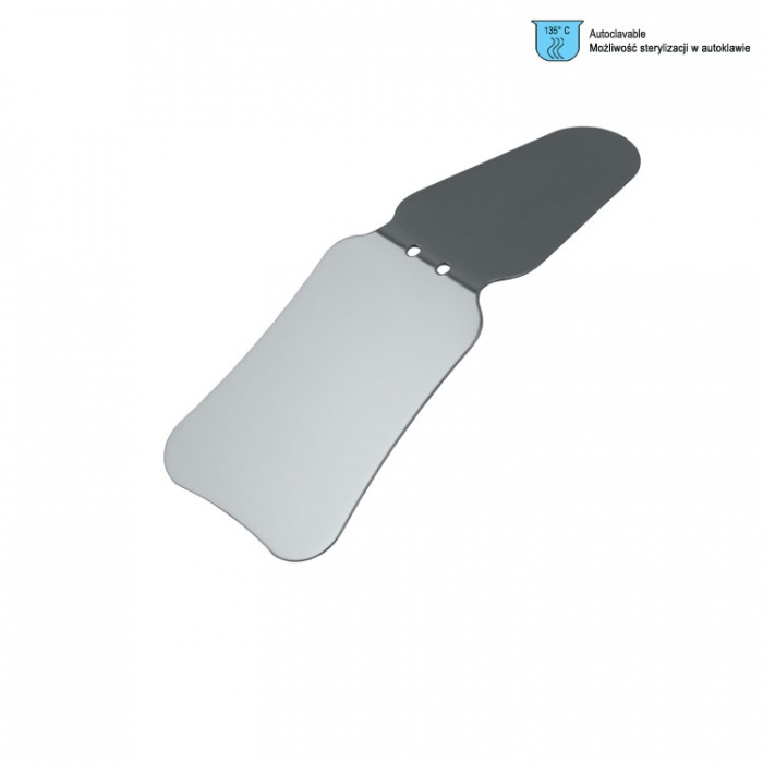 Photographic Mirror Double Sided Stainless Steel Buccal Adult / Palatal Adult