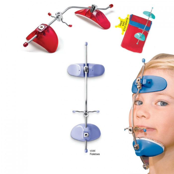 Comfi-Max Fully Adjustable Facemask Violet