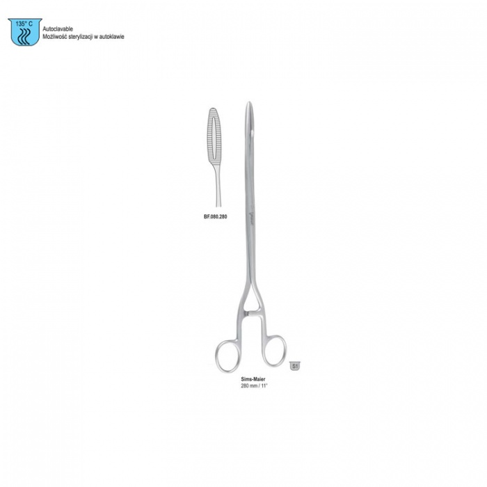 Forceps Dressing Sims-Maier Straight 280mm