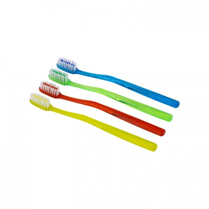 Disposable Orthodontic V-Trim Prepasted Toothbrush (Pack Of 144 Pieces)