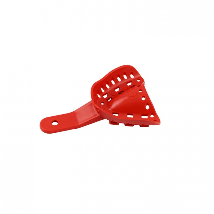 Disposable Orthodontic Impression Tray Upper Fig. A5 Size XS (Red) 10 Pieces