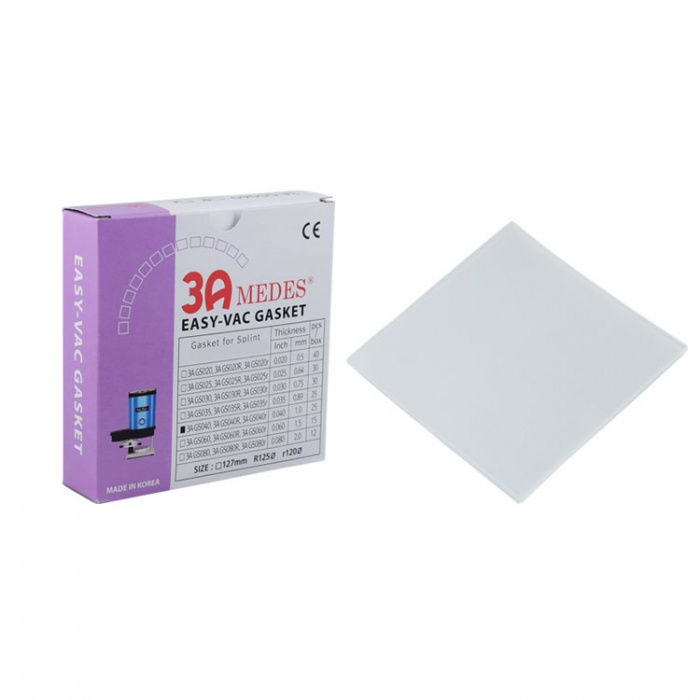 """Thermoform Sheets For Splint, Square 127 X 127mm, 2.00mm/.080"""""""