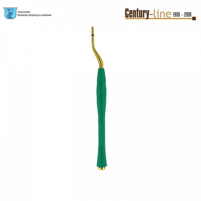Century-Line Condensing Osteotome, Bayonet 2.2-2.8mm (Green)